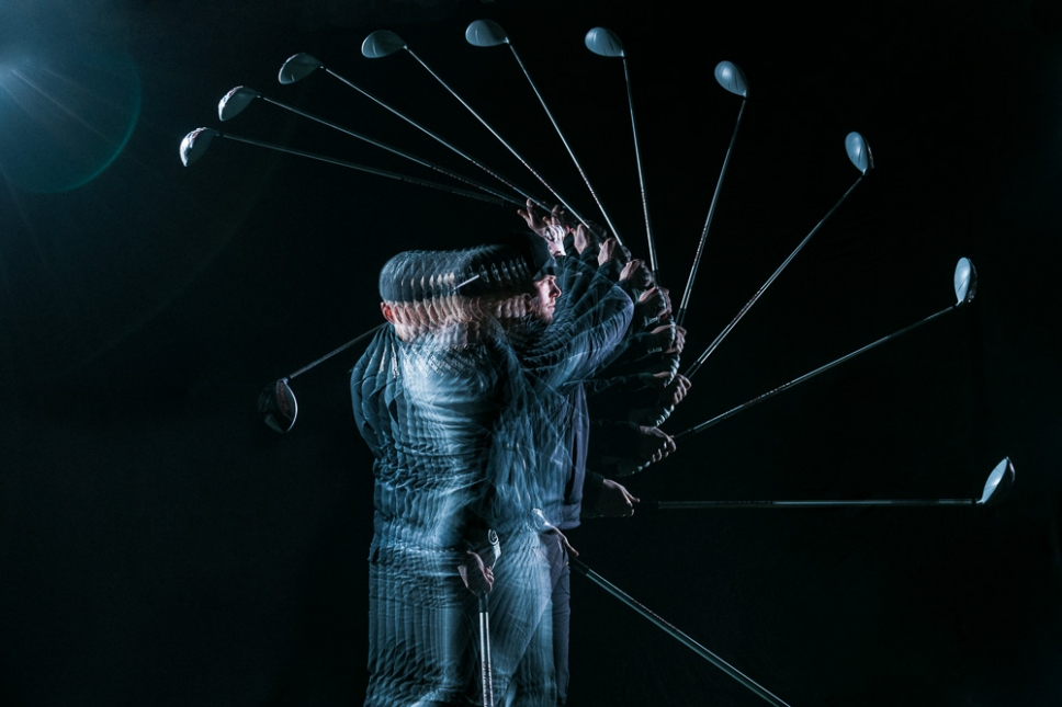 STROBOSCOPIC GOLF PHOTOGRAPHS