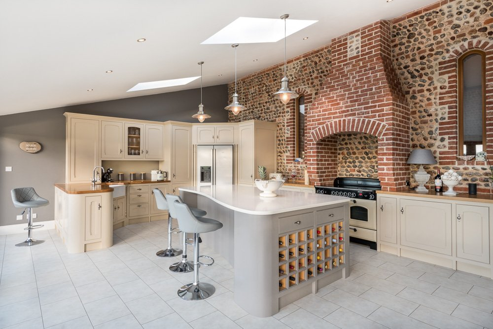Bespoke Kitchen Photography Norfolk - Commercial